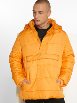 Urban Classics Puffer Jacket Pull Over yellow