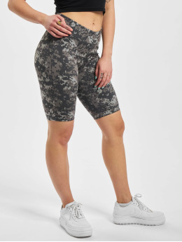 Urban Classics Short Ladies High Waist Camo Tech Cycle camouflage