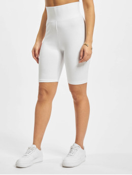 Urban Classics Short Ladies High Waist Cycle white