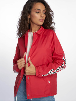 Vans College Jacket Checker Flame red