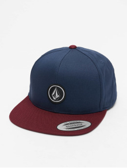 Volcom Snapback Cap Quarter Twill red