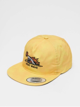 Volcom Snapback Cap Heat Wave yellow