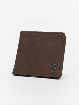 Volcom Wallet Slim Stone Pu brown