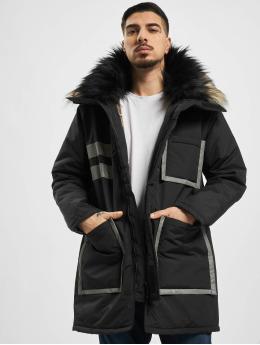 VSCT Clubwear Parka Chunk Reflective 2-Fur Freezer J black