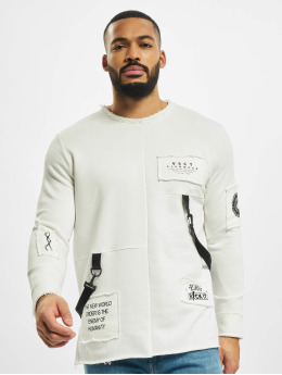 VSCT Clubwear Pullover Tape-Patches  beige