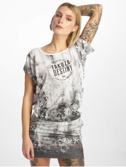 Yakuza Dress Gradient  white