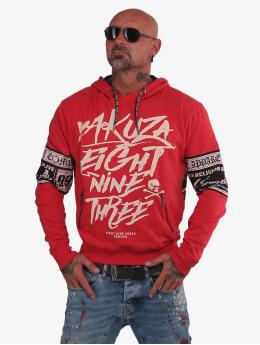 Yakuza Hoodie Fuck Religion red