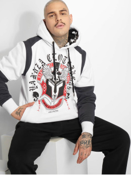 Yakuza Hoodie Mexica Two Face white