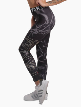 Yakuza Leggings/Treggings Glory  black