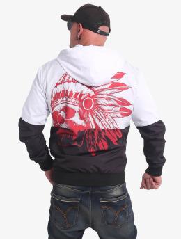 Yakuza Lightweight Jacket Indian Skull  black