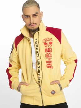 Yakuza Lightweight Jacket Lily Skull Two Face Training yellow