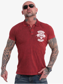 Yakuza Poloshirt 893MC Polo red
