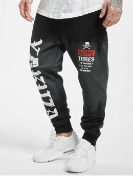 Yakuza Sweat Pant Bricks  black