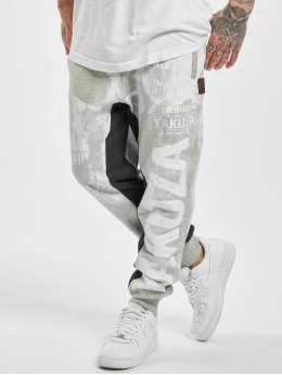 Yakuza Sweat Pant Muerte Skull Sweat gray