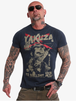 Yakuza T-Shirt Stupidity blue