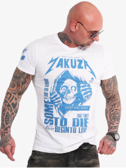Yakuza T-Shirt Afraid To Die white