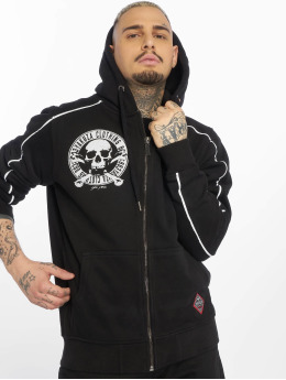 Yakuza Zip Hoodie Daily Jolly black