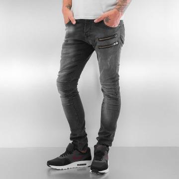 2Y Skinny Jeans Seams gray
