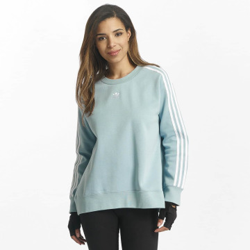 adidas Pullover 3 Stripes blue