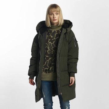 adidas Winter Jacket Long Bomber green