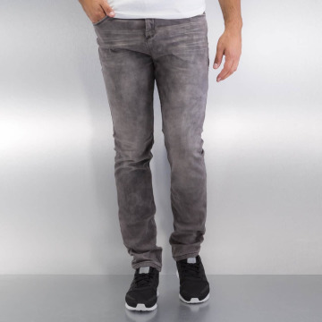 Authentic Style Straight Fit Jeans Jogg gray