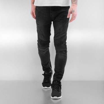 Bangastic Slim Fit Jeans Quilted II black