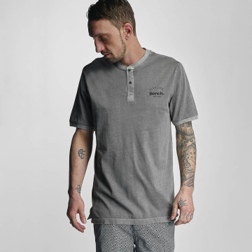 Bench T-Shirt Henley gray