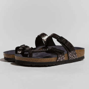 Birkenstock Sandals Mayari BF Metallic Stones black