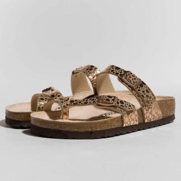 Birkenstock Sandals Mayari BF Metallic Stones brown