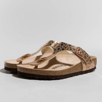 Birkenstock Sandals Gizeh BF Metallic Stones brown