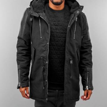 Black Kaviar Winter Jacket Maps black
