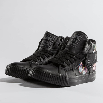 British Knights Sneakers Washed PU Nylon black