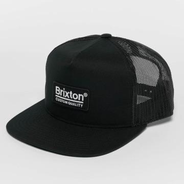 Brixton Trucker Cap Palmer Mesh black