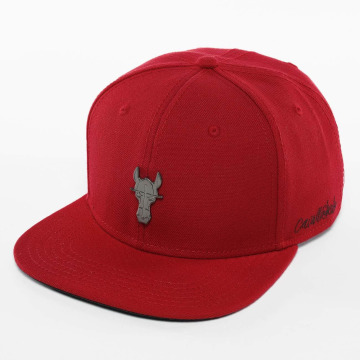 Cavallo de Ferro Snapback Cap Fire red