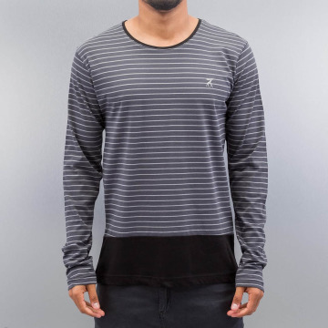 Cazzy Clang Longsleeve Stripes gray