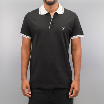 Cazzy Clang Poloshirt Damp black