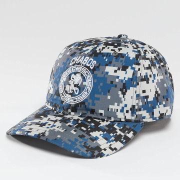 CHABOS IIVII Snapback Cap Round Panel camouflage