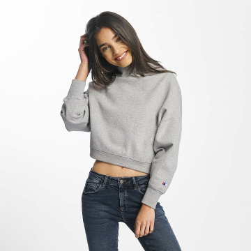 Champion Pullover Cropped gray