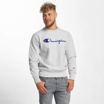 Champion Pullover Logo gray