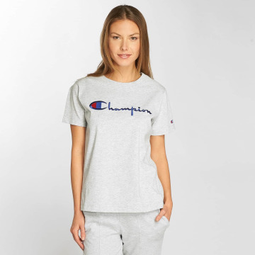 Champion T-Shirt Classic Script gray