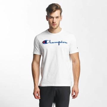 Champion T-Shirt Cotton Graphic white