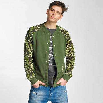 Cyprime College Jacket Fleece olive