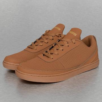 Dangerous DNGRS Sneakers Perforated brown