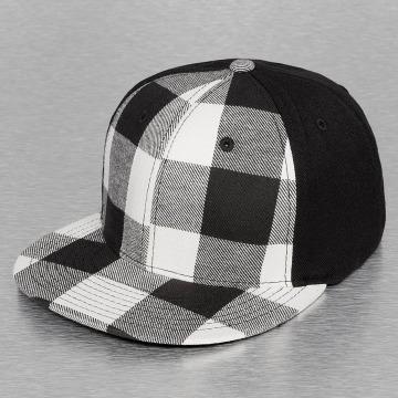 Decky USA Flexfitted Cap Plaid Flat Bill black