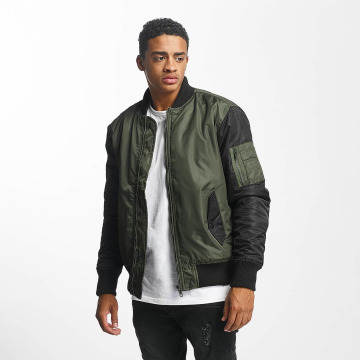 DEF Bomber jacket Two Tone olive