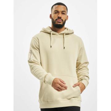 DEF Hoodie Upper Arm Pocket beige