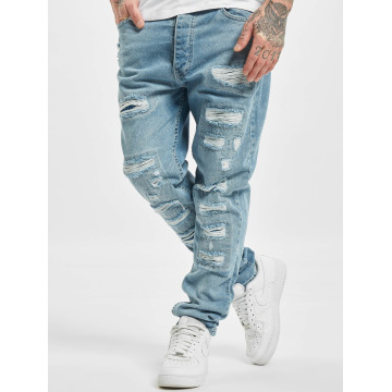 DEF Straight Fit Jeans Carl blue