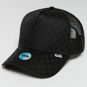 Djinns Trucker Cap HFT Tie Check black