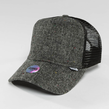 Djinns Trucker Cap HFT Felt Rubber gray