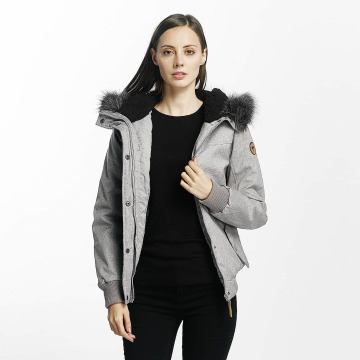 Eight2Nine Winter Jacket Big Hood gray